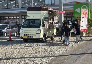 lifeparkenishi2月 6 , 7 日 2日間crepes shop Sunny`s越谷店様出店ありがとうございました✨えに...