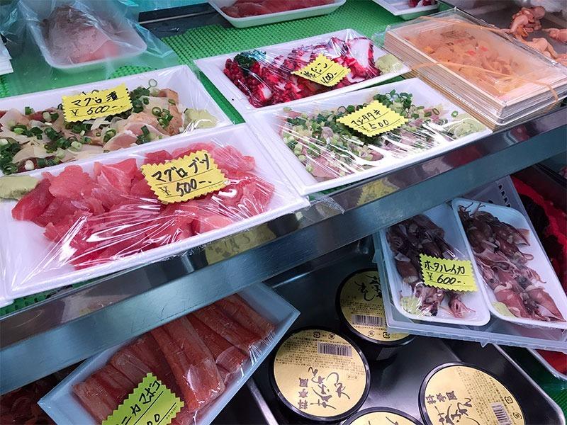 越谷市蒲生の有明水産 美味しいマグロ、まぐろ刺身